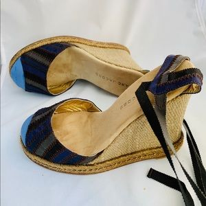 Marc Jacobs Wedge Sandals Size 35 - Worn Once